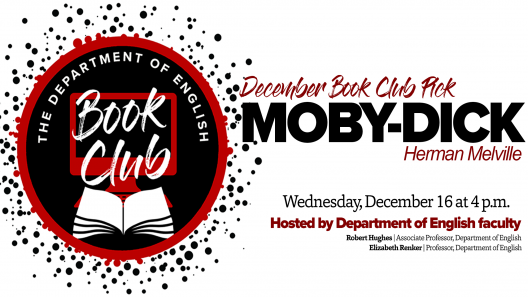 December book club Moby-Dick graphic