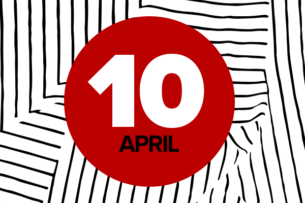 April 10 graphic