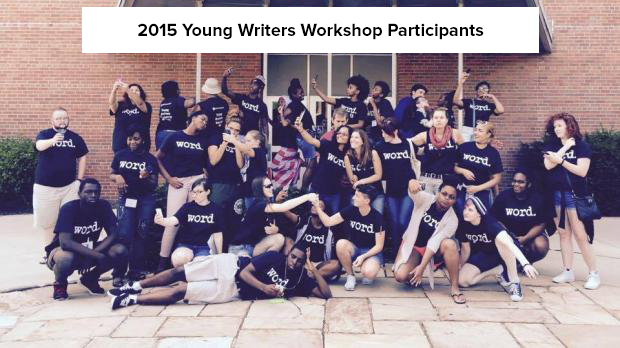 2015 Young Writers Workshop Participants