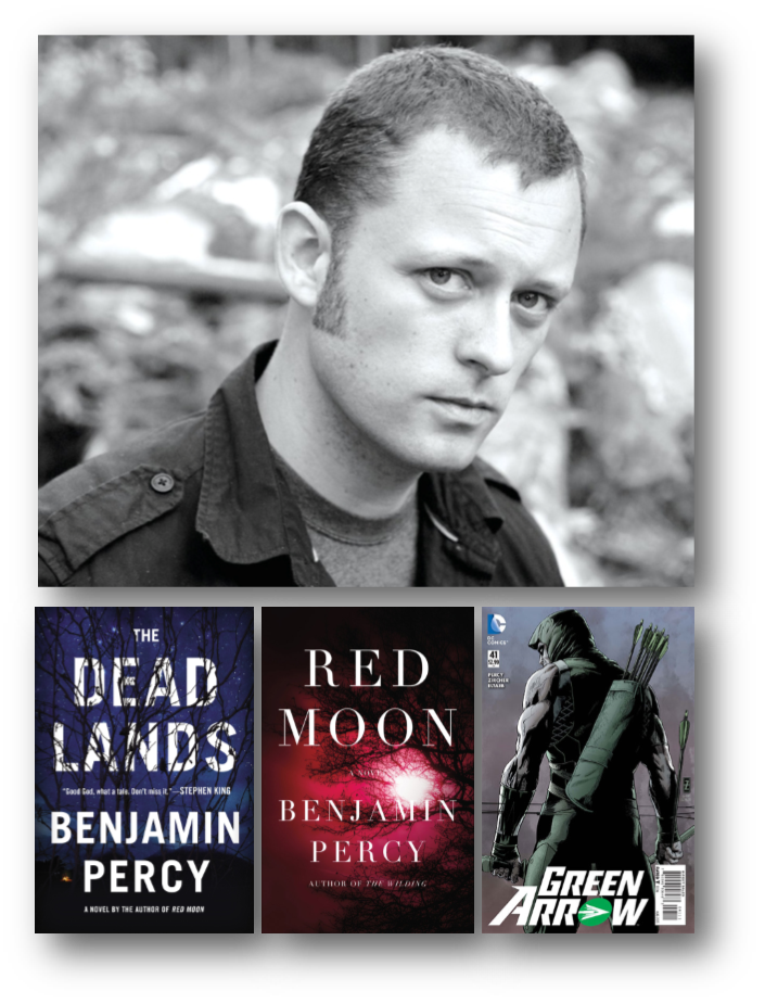 Benjamin Percy and books