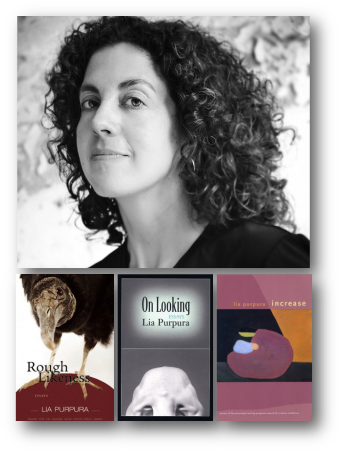 Lia Purpura and books