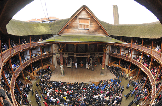 Picture of the Globe Theatre